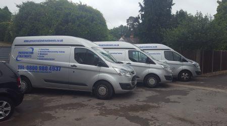 PTL vans