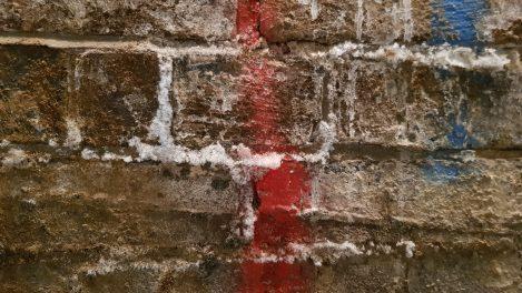 Salting brickwork
