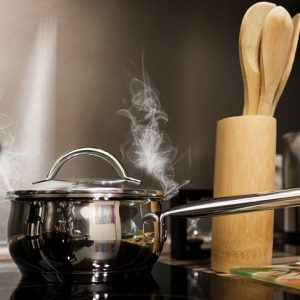 Steam in the kitchen